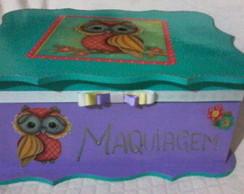 Porta Maquiagem - Corujinha V1
