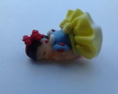 Lembrancinha biscuit beb� princesa baby.