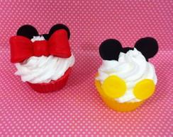 cupcake de sabonete Mickey