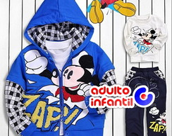 Conjunto Moletom Mickey Mouse