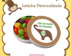 Latinha Ch� de beb�