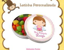 Latinha Batizado Menina