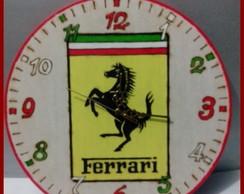 Rel�gio Parede Ferrari Grande