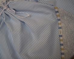 Saco roupa suja com plastico dentro Urso