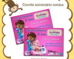 Convite Doutora Brinquedos