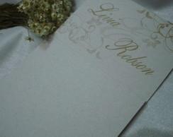 Convite de Casamento da Linha Natural