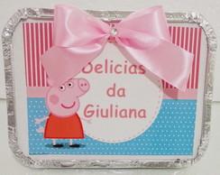 Marmitinha Personalizada Peppa Pig