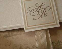 Convite Casamento estilo Vintage