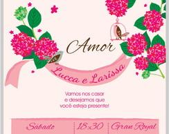 Kit Festa Casamento Flow Hort�nsias