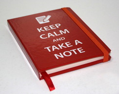 Keep Calm - Pocket Note Artesanal