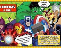 Vingadores - Convite