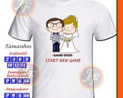 Camiseta Personalizada New Game