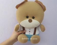 Ursinho com roupinha 30cm