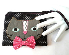 Clutch Patchwork - Gato