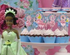 Topper Docinho Princesas
