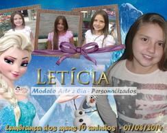 Convite Frozen - 2
