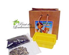 kit jardinagem ecol�gico kraft