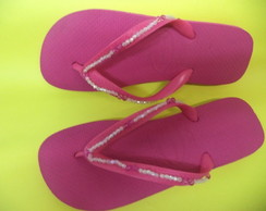 Chinelo havaiana Adulto decorado