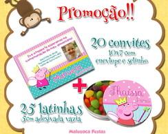 20 convites + 25 latinhas por R$ 45 !!!