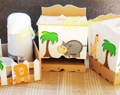 Kit higiene Safari /Selva com Garrafa