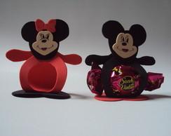 Lembrancinha Porta Bombom Minie/Mickey