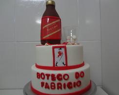 Bolo Cenogr�fico Boteco Red Label