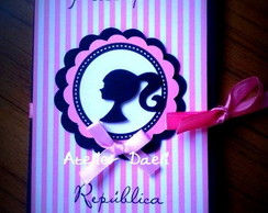 Convite Passaporte Barbie Paris