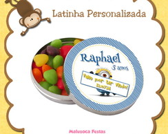 Latinha Minion
