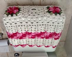 Capa de croch� para caixa acoplada