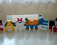 Letra Personalizada 3D