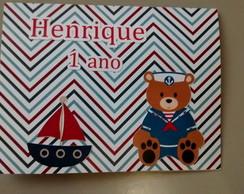 Convite Ursinho Marinheiro