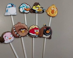 Topper personalizado Angry Birds