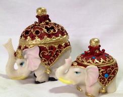 Porta j�ias elefantes indianos