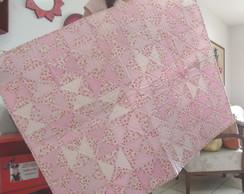 Manta infantil em patchwork