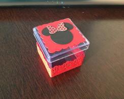 Caixinha De Acr�lico - Minnie Vermelha