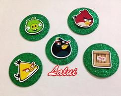 Aplique Glitter - Angry Birds