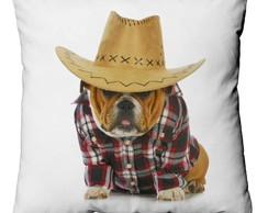 Capa para almofada Bulldog Country