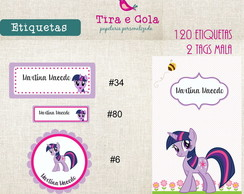 Etiquetas Imperme�veis - Little Poney
