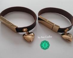 Pulseiras Duo Personalizadas Luxo