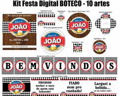 Kit Festa Digital Boteco - Brahma