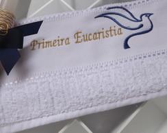 Kit Primeira Eucaristia-Toalha+Vela