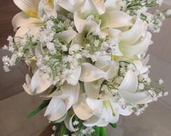 Bouquet Di Lirios Brancos I