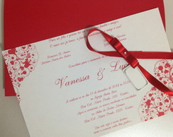 Convite De Casamento - Paix�o
