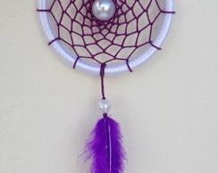 Filtro dos Sonhos Violeta e Branco