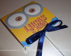 Convite Pirulito Minions