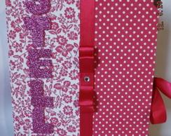 Kit �lbum De Fotos + Caixa Floral 15x21