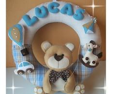 Guirlanda Ursinho e brinquedos do Lucas