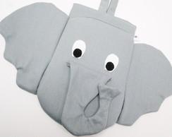 Lixinho De Carro Acolchoado Elefante -