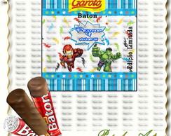R�TULO PARA CHOCOLATE BATON