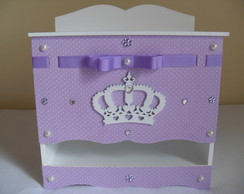 Porta Fraldas - Cole��o Princesa Lil�s